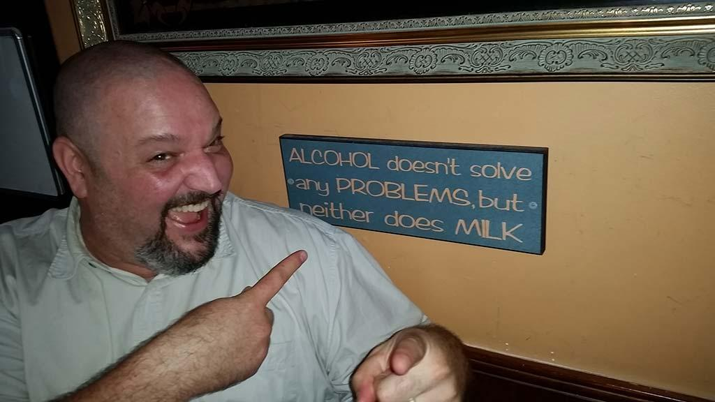 Archies Bar Quote of the day