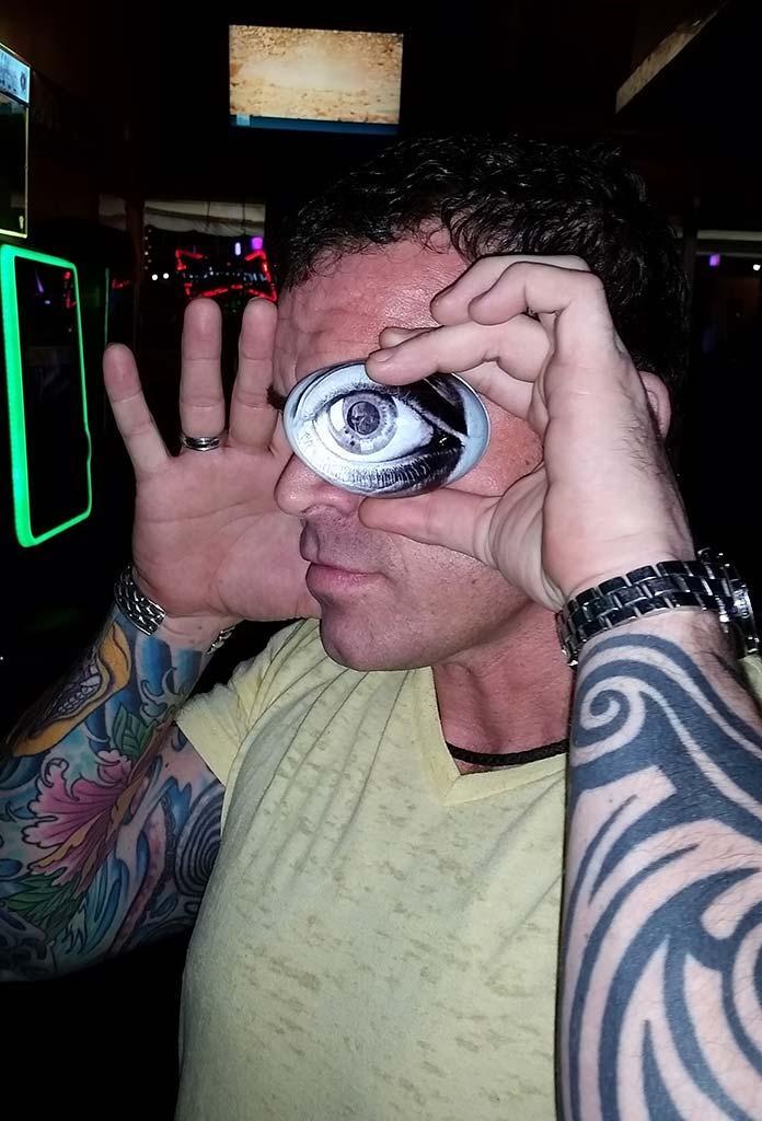 Archies Bar has an eye on you